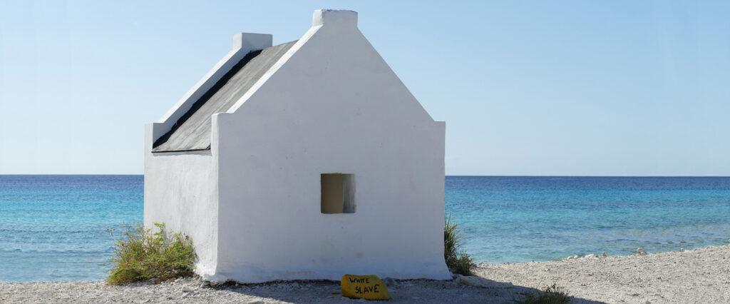 Wit slavenhuisje Bonaire