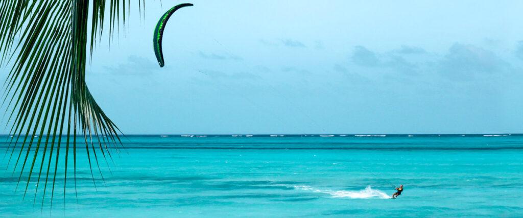 Wind op Bonaire - Kitesurfen