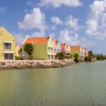 Kleurige huizen Bonaire