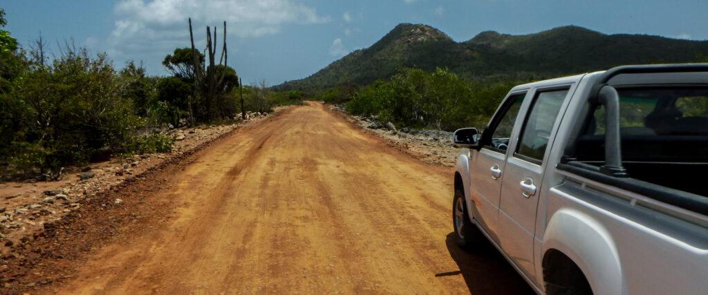 Pickup huren Bonaire