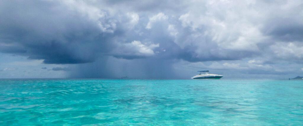 Weer Bonaire - Regenbui
