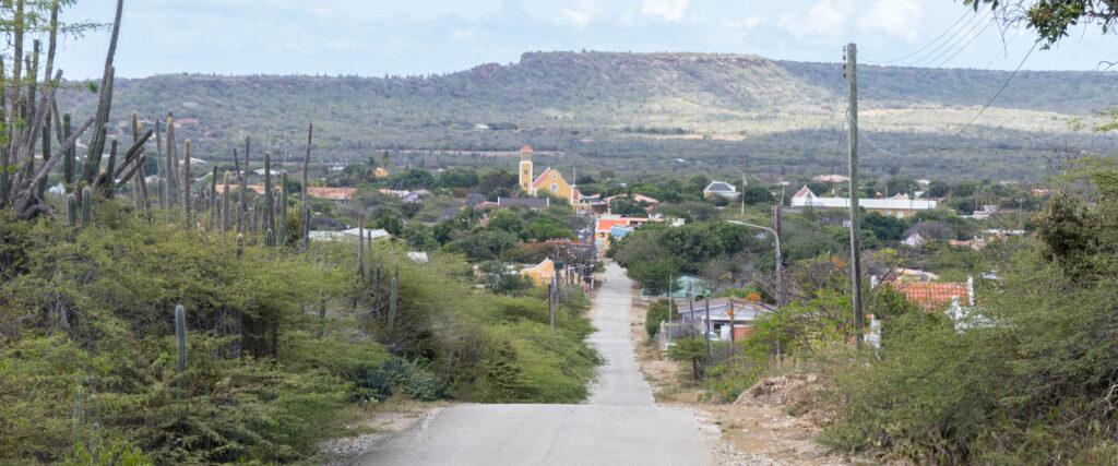 Uitzicht Rincon Bonaire